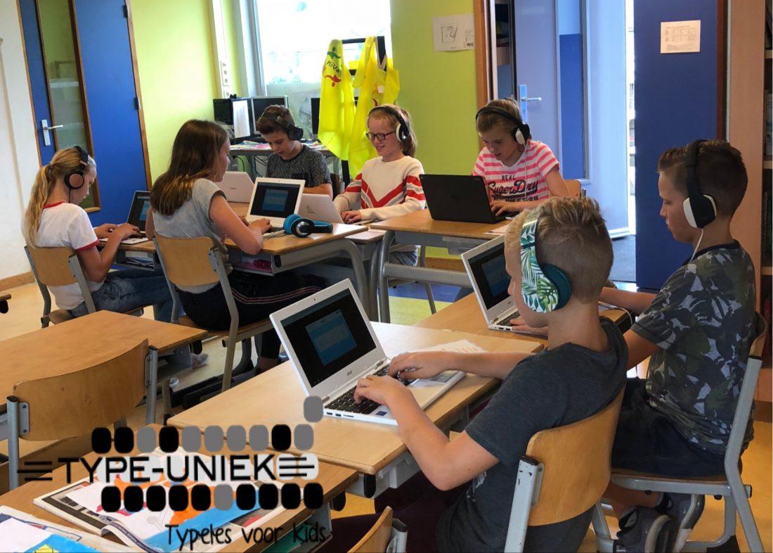 1ste startdag van de nieuwe cursiten bij BS Theresia in Berlicum
