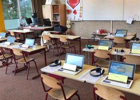 Voorbereiding BS Herman Jozef in Middelrode door Type-Uniek 2017
