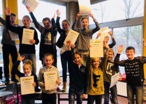 Typediploma uitreiking BS Herman Jozef in Middelrode (2016/2017)