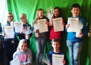 Typediploma uitreiking Basisschool De Overlaet in Rosmalen (2018)